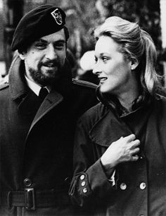 Robert DeNiro and Meryl Streep in The Deer Hunter