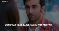 45 Things 'Yeh Jawaani Hai Deewani' Taught Us About Love, Life & Friendships Besties Quotes, Happy Quotes, Life Quotes, Bollywood Love Quotes, Bollywood Posters, Yjhd Quotes, Swing Pictures, Caption Lyrics, Filmy Quotes