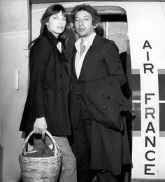 """""""He comes back to me as a ghost in his corduroy coat, and I clasp him around his waist saying, """"Stay on for a bit longer."""" And he says, """"No, I've got to go."""" I miss him. So does all of France. He had been faithful and kind to the end.""""   - Jane Birkin on Serge Gainsbourg's death"""