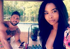 Paul Swan and Mariel Lane were just friends enjoying their best friends Austin Dillon and Whitney Ward. #mixite #love #interracialcouples #truelove #thelovings #purelove #freelove #biracialcouples #nascar #monsterenergy