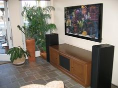 White Maple TV and Media Console