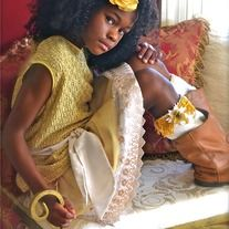 Products · Gold flower Clip and Boot Cuff Set · Temptations Creations's Store Admin
