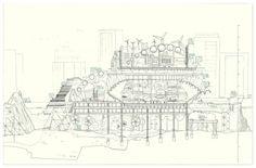 Margaret Bursa_A dream of New York_Hudson elevation