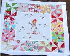 Adorable Pinwheel Quilt - Looking for free sewing craft patterns to make for your little girl? If you want to learn how to sew a quilt, this Adorable Pinwheel Quilt is a free sewing tutorial project that is perfect for a picnic or day at the beach, and makes a great birthday or holiday gift.