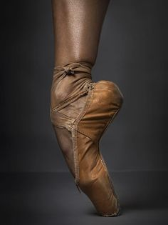 Misty Copeland - at age 13; she was dancing en pointe within three months, making her a veritable prodigy.