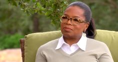 Oprah thoughtfully pondererd the question of Jesus
