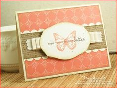 Butterfly greeting card @ stamping.craftgossip.com