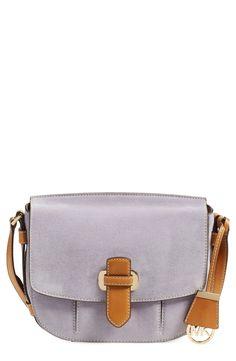 9844b17afa0ec MICHAEL Michael Kors  Medium Romey  Leather Messenger Bag