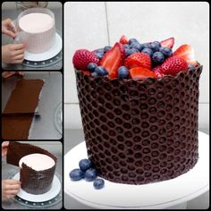 It's a definitely Creative Way to Decorate Cake With Bubble Wrap to give cake a very special look and people will be amazed with your skills.