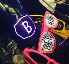 Luxurious black bottles with neon pink writing. Wait till you pop the cork an release the bright pink bubbles of Luc Belaire. Drink, Rose, Beverage, Pink, Roses, Drinking
