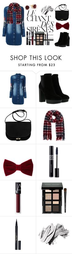 """""""Untitled #119"""" by justec ❤ liked on Polyvore featuring Philipp Plein, Hogan, Christian Dior, NARS Cosmetics, Bobbi Brown Cosmetics and Stila"""