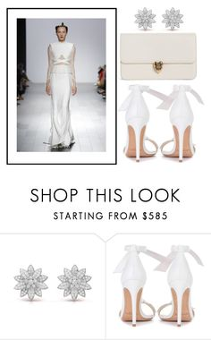 """""""snow queen"""" by missrose94 ❤ liked on Polyvore featuring Bibhu Mohapatra, Alexandre Birman and Alexander McQueen"""