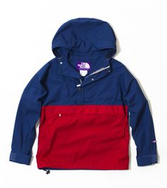 The North Face Purple Label Mountain Pullover jacket. Very casual!