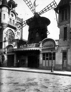 Le Moulin Rouge, 1911 by Eugene Atget