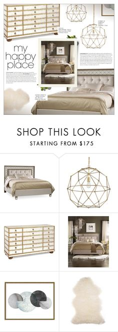 """HOME SWEET HOME: MY HAPPY PLACE"" by larissa-takahassi ❤ liked on Polyvore featuring interior, interiors, interior design, home, home decor, interior decorating, Hooker Furniture, Currey & Company, Art Addiction and Barneys New York"