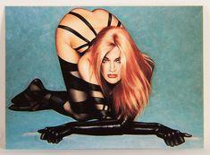 L008664 Olivia DeBerardinis 1992 Card #25 - Sidewinder 1991 / Pin-Up Art