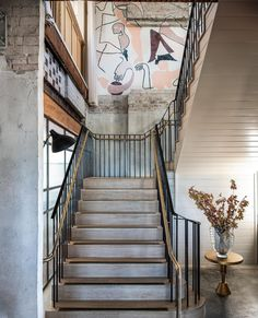 Inside the stunning redesign of Sydney's Woolwich Pier Hotel - Vogue Australia Dyi, New Staircase, Staircases, Staircase Metal, Mug Design, Rooftop Restaurant, Restaurant Design, Design Fails, Best Decor