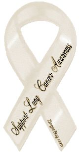 cancer ribbon support lung cancer
