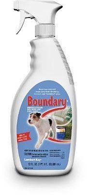 Lambert Kay Boundary Indoor/Outdoor Dog Repellent Pump Spra...New, Free Shipping