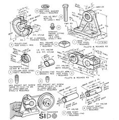 Montaj Mechanical Art, Mechanical Design, Mechanical Engineering, 3d Sketch, Sketches, Diy Projects Engineering, Solidworks Tutorial, Autodesk Inventor, Drawing Machine