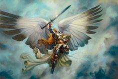 Glorioso São Miguel Arcanjo,  poderoso vencedor das batalhas espirituais,  vinde em auxílio das minhas necessidades  espirituais e temp...