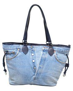 borsa jeans e pelle - Cerca con Google