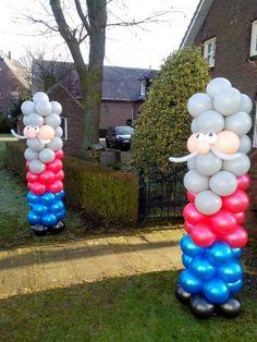 Ballonnen pilaar abraham