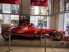 a Formula One car to win the race
