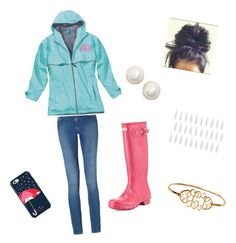 """""""Rainy Day"""" by lbrittain ❤ liked on Polyvore featuring Kate Spade, Calvin Klein, Hunter and Jill Malek"""