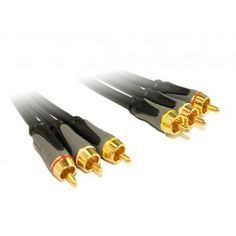 2M High Grade RCA A/V Cable with OFC