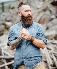 "kinky-beards: ""bearditorium: "" Victorio ""   Kinky-Beards - The Kinkyest choice of Bearded men """
