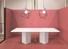 Pendelleuchte aus pulverbeschichtetem Stahl INCIUCIO by Gibas Design Roberto Giacomucci