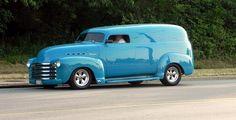 1951 chevy panel van