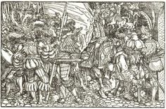 German Landsknechts & Knights, c. 1520