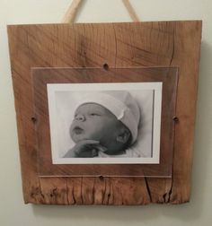 rustic picture frame by whitepinecrafters on Etsy, $42.00