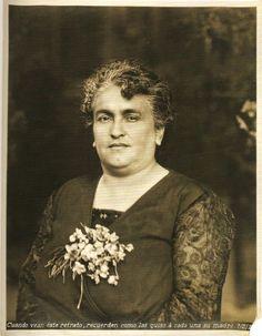 Matilde Calderón, madre de Frida.