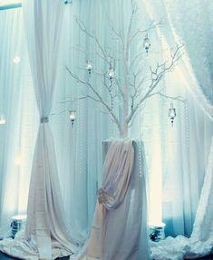 30 Winter Wedding Backdrops That Excite | HappyWedd.com