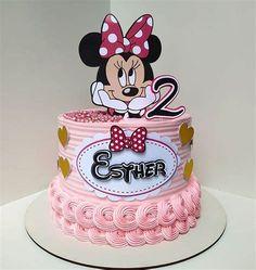 Pin De Monica Sugiarto Em Miki Mini | Bolo Da Minie Rosa Minnie Mouse Cake Design, Torta Minnie Mouse, Bolo Minnie, Minnie Cake, Minnie Mouse Theme, Mickey Mouse Cake, Mini Mouse Birthday Cake, Mini Mouse Cake, Birthday Cake Roses
