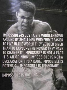 Post with 523 views. The immortal words of Mohammed Ali Wisdom Quotes, Me Quotes, Motivational Quotes, Inspirational Quotes, Sport Quotes, Boss Quotes, People Quotes, Lyric Quotes, Qoutes