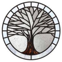 Winter maple tree mandala 1
