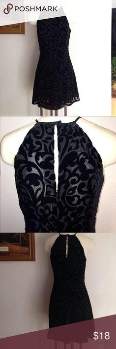 GEORGIOU Simply elegant lined black dress! Georgiou Dresses Mini