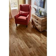 Nuvelle French Oak Nougat 5/8 in. Thick x 4-3/4 in. Wide x Varying Length Click Solid Hardwood Flooring (15.5 sq. ft. / case)-NV!SL - The Home Depot