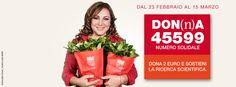 SMS solidale 45599 e La Gardenia di AISM - promuovi la campagna online - Associazione Italiana Sclerosi Multipla