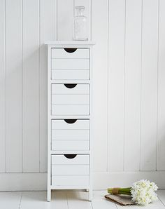 Dorset white narrow storage furniture, ideal white bedside table for small white bedroom furniture Cheap Bedside Tables, Wooden Bedside Table, Narrow Bedside Cabinets, New England Bedroom, Small White Bedrooms, Bedroom Size, Master Bedroom, Side Table With Drawer, White Bedroom Furniture