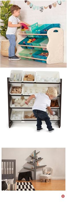 Kids Shelving And Bookcases Girl Room, Baby Room, Toddler Rooms, Toy Rooms, Home Organization, Organizing, Kids Bedroom, Bedroom Ideas, Kids Playing