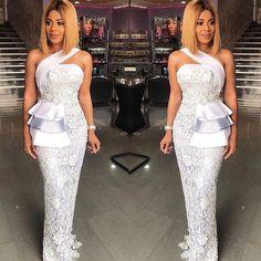 Sleek@empress_jamila in @shebybena #AsoEbiBella ✨upload your #asoebi styles on www.asoebibella.com✨