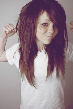 <3 cute emo/rock alternative hairstyle for girls