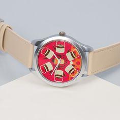 India Circus Kadak Coral Chai Unisex Wrist Watch