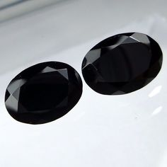 9x7 MM 5.3 Carat Natural Black Spinel Faceted Oval Shape Cut Stone Gemstone #Unbranded