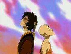 Avatar: The Last Airbender - Zuko & Aang Avatar Aang, Avatar Airbender, Avatar Legend Of Aang, Team Avatar, Legend Of Korra, Avatar Picture, Prince Zuko, The Last Avatar, Avatar World